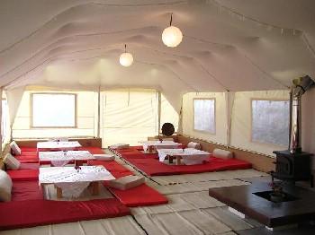צימרים שבט אחים - אוהל אירוח