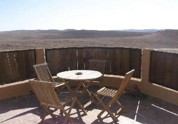 צימרים על גג המדבר